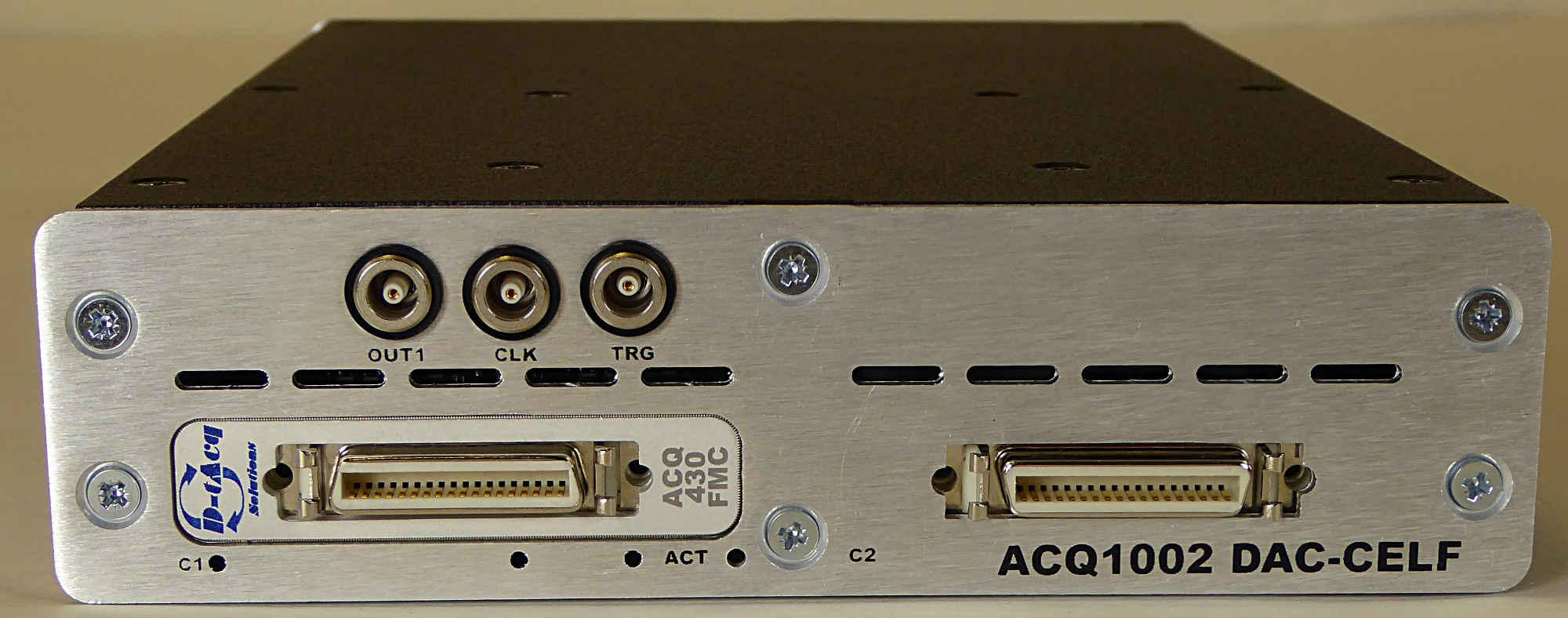 D-TACQ Solutions: 20-bit Low Profile Power Supply Controller