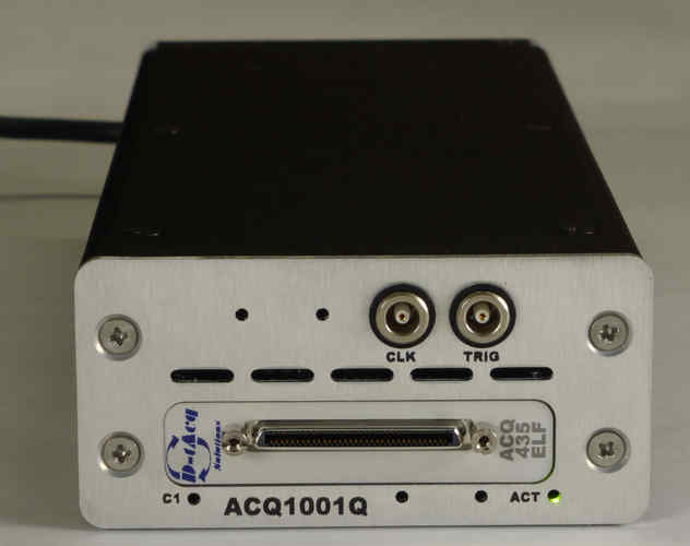 ACQ1001 carrier with ACQ435 32 channel DAQ