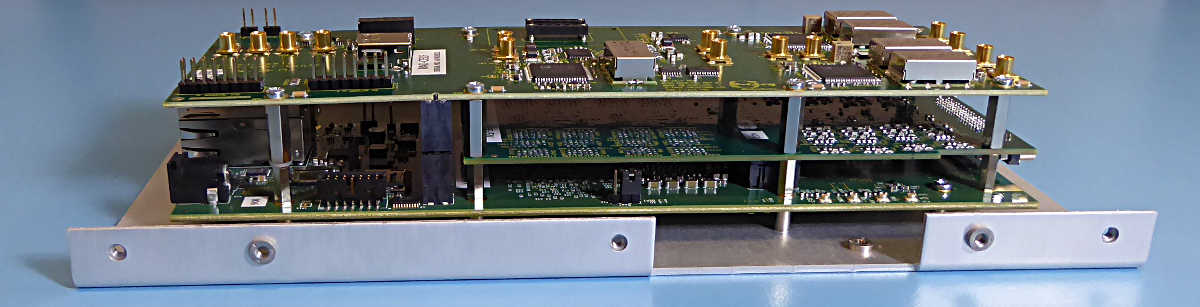 OEM Systems: open stack, 16 channels, DDS clock module